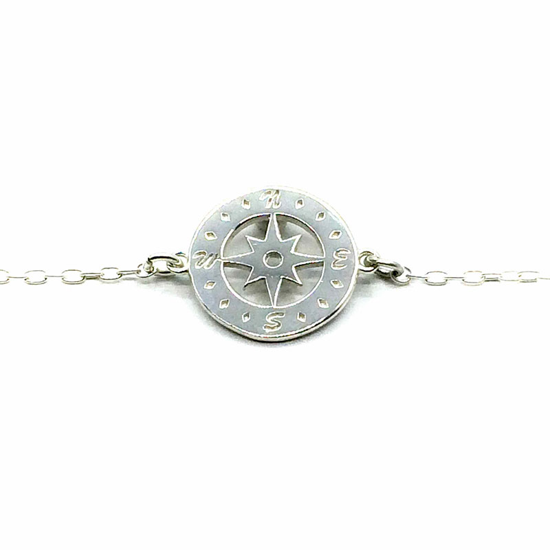 bracelet silver en compass ros directions gold lovelymusthaves trendy arrow