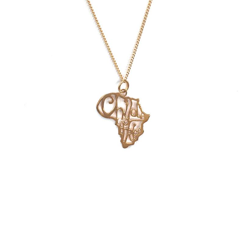 spirit jewellery child of africa necklace   handmade