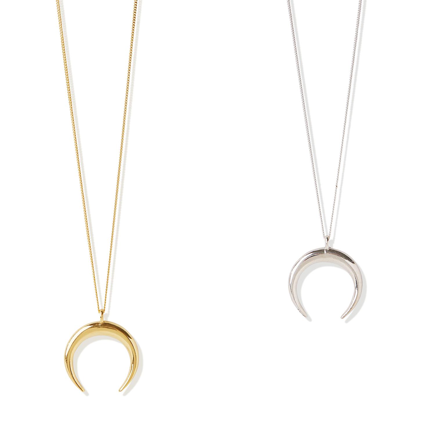 f112cf2e1b0ff Crescent Moon necklace - Large