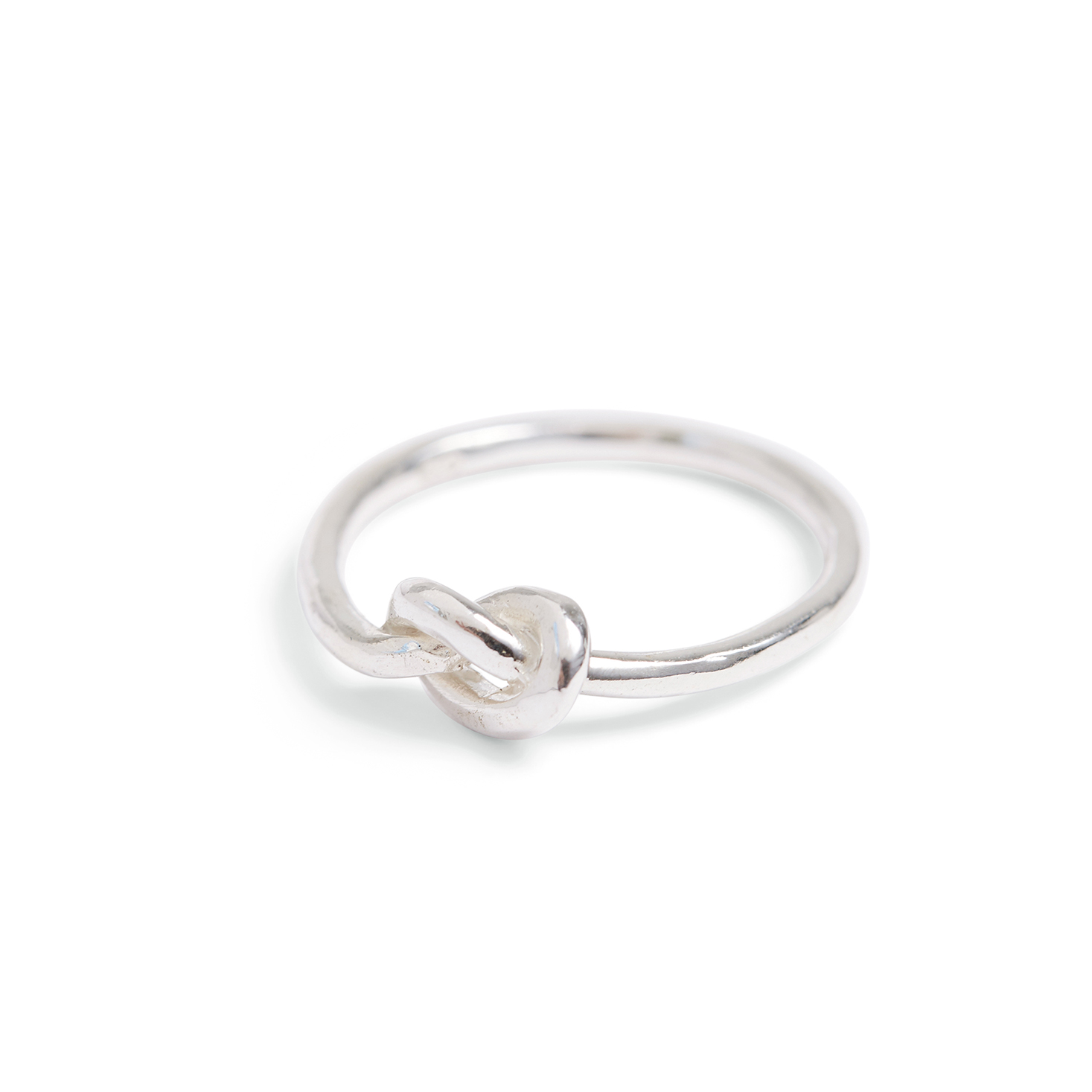 Spirit Jewellery Forget Me Knot Ring Handmade Silver Jewellery